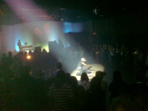 Breakdancing at Verve, the Youth Ministry