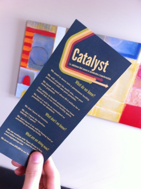 Catalyst Offering March 13th