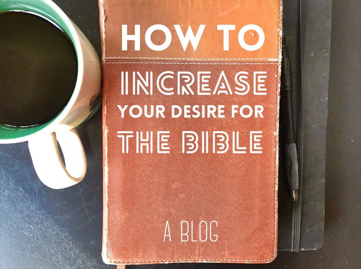 Increase Hunger for Your Bible