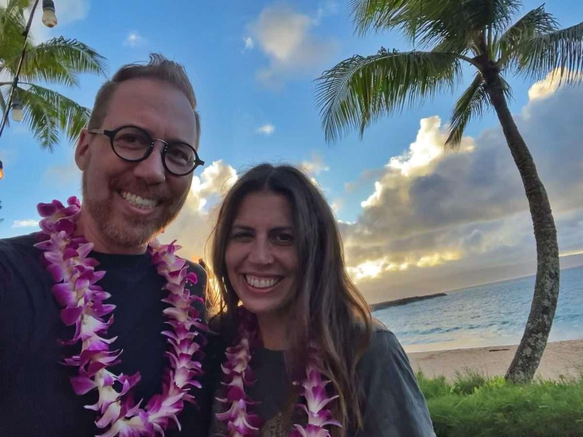 Peter and Carolyn Hawaii 2021